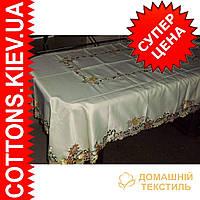 Скатерть на  пасхальный роздвижной стол160*240GR-09HF041A