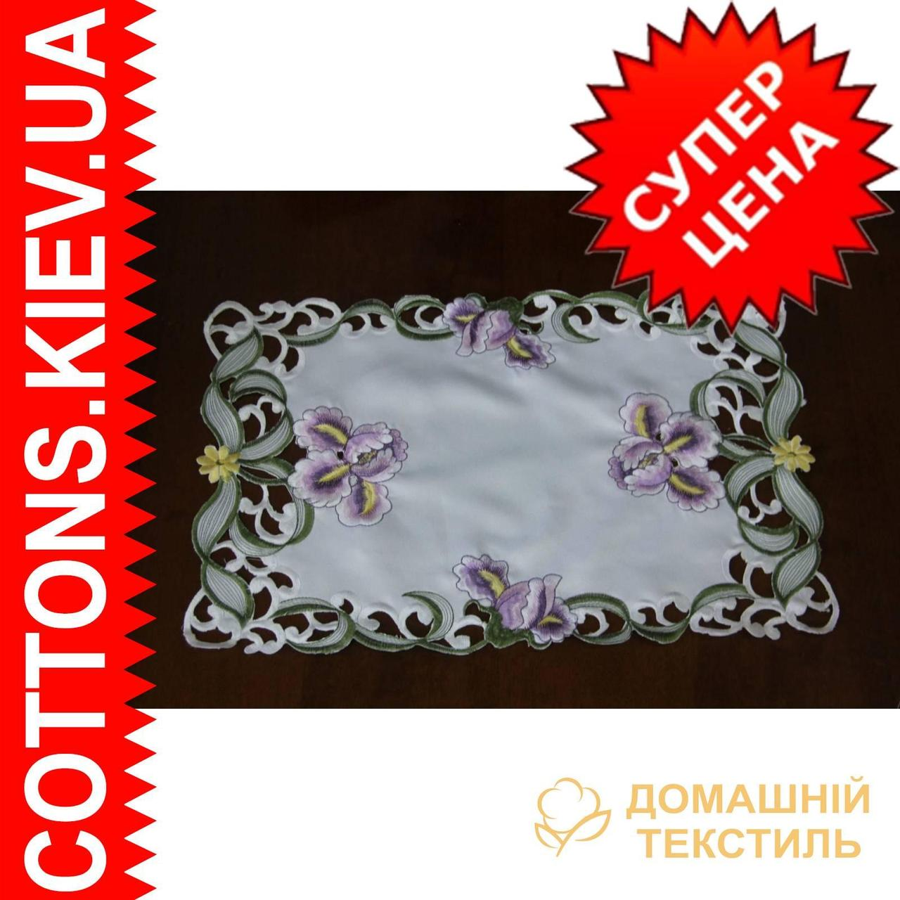 Салфетка прямоугольная 30*45 ирисы - Стиль, комфорт, уют - Cottons в Хмельницком