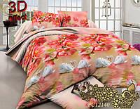 Комплект постельного белья 3D поликоттон ТМ Sveline Tekstil (Украина) двуспальный PC12140