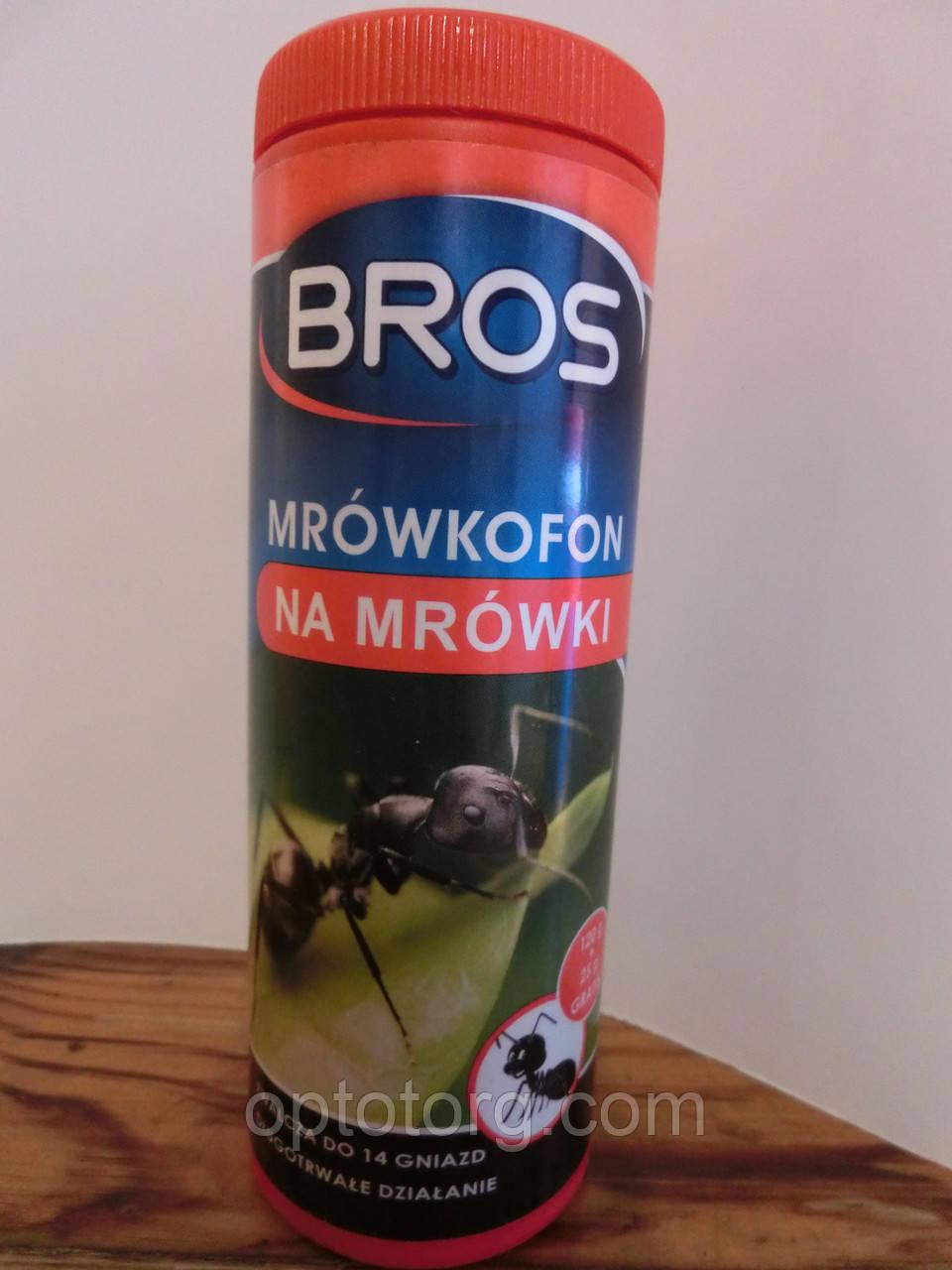 Брос от муравьев профессиональное средство Брос 145 гр оригинал