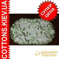Салфетка 28*45 Зеленая роза