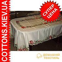 Скатерть на большой раздвижной стол160*240CR-09HF8127C