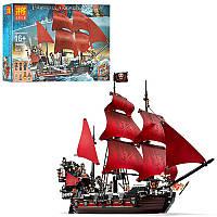 Конструктор LELE 39008 ПИРАТЫ - Пиратский корабль (1222 дет.)
