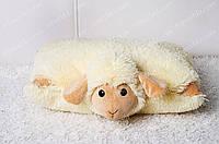 Игрушка подушка Овечка-трансформер 36х36 см