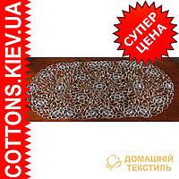 Салфетка  коричневая ажурная 40*85OV GR-55C-2184-1
