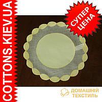 Салфетка 30*30 Колосок желтый