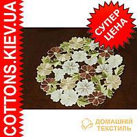 Нежно цветочная салфетка букет 30*30