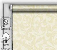 """Тканинні рулонні штори """"DecoLUX"""" акант (шампань), РОЗМІР 130х170 см, фото 1"""