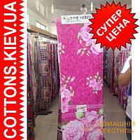 Ткань рулонами и отрезами для постельного белья и пошива одеял  (Роза полоса)