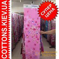 Ткань рулонами и отрезами для постельного белья и пошива одеял  (Розочки роз.гол.)
