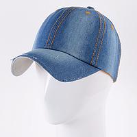 Стильная джинсовая кепка, фото 1