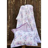 Постельное белье для подростков Lotus Premium B&G Eifel лиловое