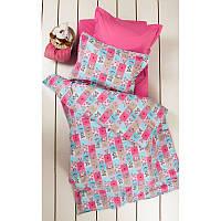 Постельное белье для подростков Lotus Premium B&G Sweetie розовое