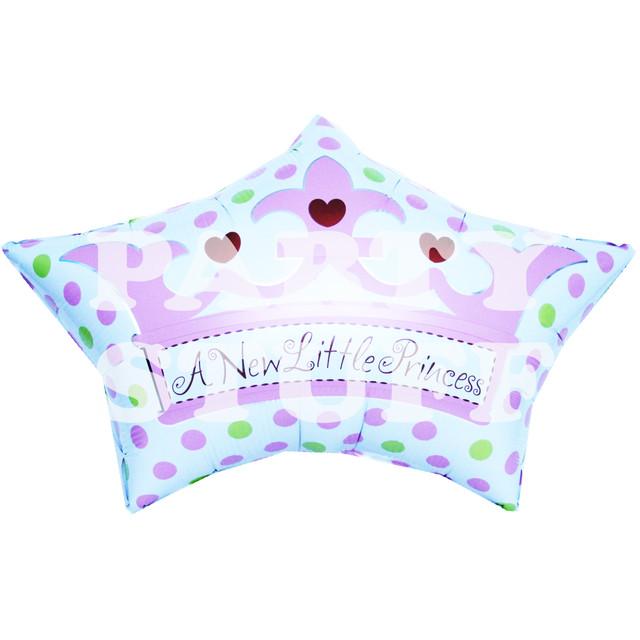 шар фольгированный для новорожденной