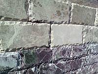 Камень рустованный из мрамора ( россо леванте) гнилая вишня 6хI , ИТАЛИЯ