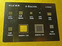 Трафарет G1047 BGA для MTK, Qualcomm (NOTE)