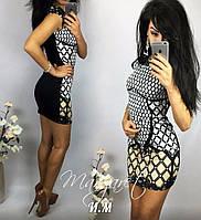 Черно-белое платье, фото 1