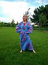 Вышитое платье  бохо вышиванка лен, этно, стиль бохо шик, вишите плаття вишиванка, Bohemian,стиль Вита Кин, фото 2
