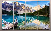 Модульная картина пейзаж горы недорого купить