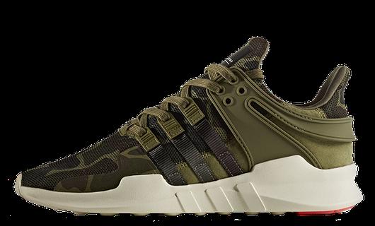 Кроссовки Мужские Adidas EQT (equipment) Support ADV Camouflage, Адидас ЕКТ Камуфляж, реплика