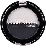 Микронизированные компактные тени-дуэт для век ColorEyes 201-весеннее пробуждение