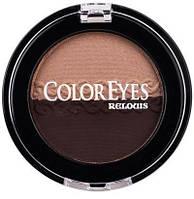 Микронизированные компактные тени-дуэт для век ColorEyes 206-осенний поцелуй