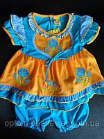 Красивые детские платья с шортиками на резинке.