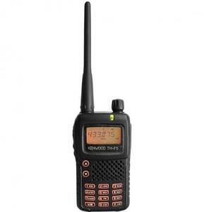Мощная радиостанция (рация) Kenwood TH-F5. Частотный диапазон (от-до)  400-470Mhz (прием/передача)