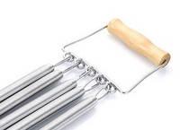 Эспандер пружинный грудной с деревянной ручкой