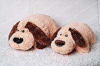 Игрушка подушка трансформер Собака 36х38 см
