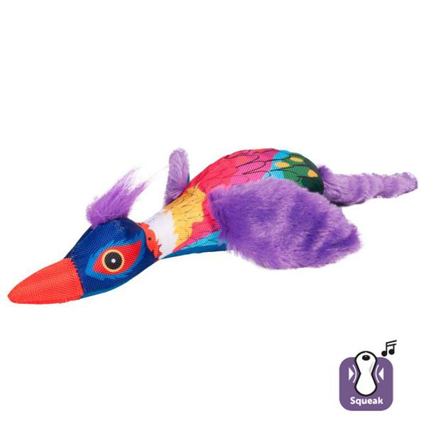 Мягкая игрушка Karlie-Flamingo CRAZY BIRD крейзи птица для собак, 50х10х7,50 см