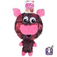 Karlie-Flamingo BIG Headz КАРЛИ-ФЛАМИНГО ХЕДЗ игрушка для собак, большая голова с пищалкой