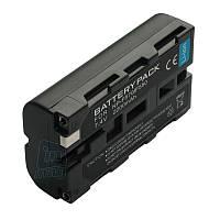 Аккумулятор для Sony NP-F550, NP-F570, 2200mAh (не чипованный). Для  осветителей!