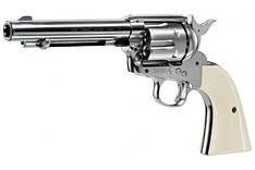Пневматический револьвер Colt Single Action Army 45 Nickel Finish