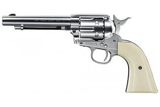 Пневматичний револьвер kwc Colt Single Action Army 45 Nickel Finish, фото 2