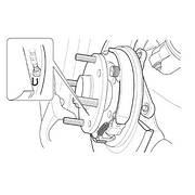 Замена колодок ручного тормоза