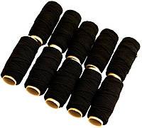 Нитка - резинка, черная