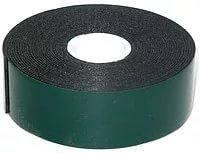 Лента клейкая двусторонняя 25 х 10м (0,87мм) (черная, адгезия 11,5 Н/см)
