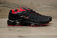Мужские кроссовки Nike Air Max Tn+ Red/Black. Топ качество! Живое фото (Реплика ААА+)