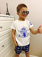 Летний костюм с шортами Размеры:98-128 мал.ростовка