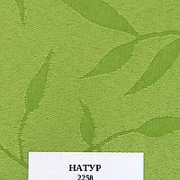 Рулонные шторы Одесса Ткань Натура Зелёный 2258
