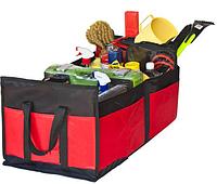 Сумка органайзер багажника Штурмовик АС-1536 BK/RD 600х370х250мм, фото 1