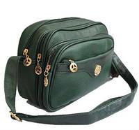 Женская сумка на плечо, через плечо Q-71 Черный, Красный, Зеленый, Серый, Бежевый