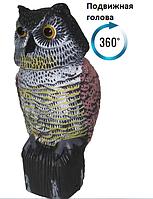 Сова с подвижной головой для отпугивания птиц, фото 1