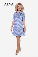 Платье Валентино А-8416  (р.44-52)