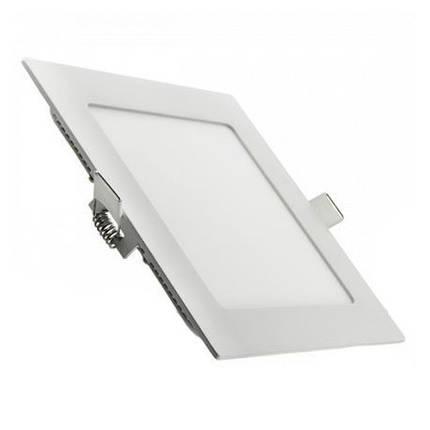 LED светильник LEZARD 9W 6400K встраиваемый квадрат, фото 2