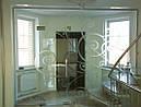 Входная группа с одной дверью (цельностеклянные конструкции), фото 8