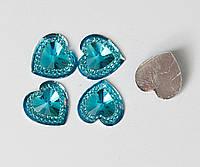 Сердце бриллиант 16 ММ 500 шт.