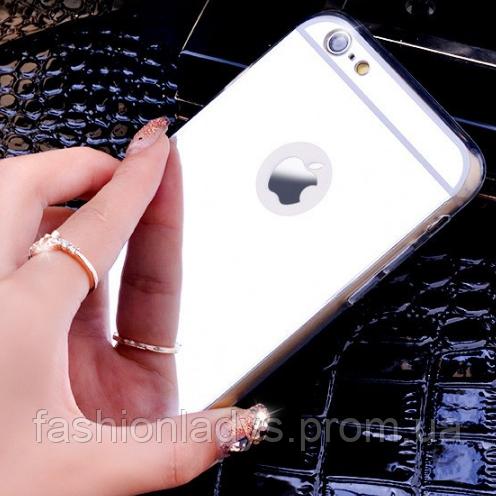 Чехол с зеркальным ефектом для iPhone 7