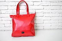 Спортивная сумка 114656 искусственная кожа ручки на плечо 35 см х 37 см х 12 см  красный